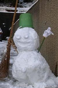 スタンダードな雪だるま